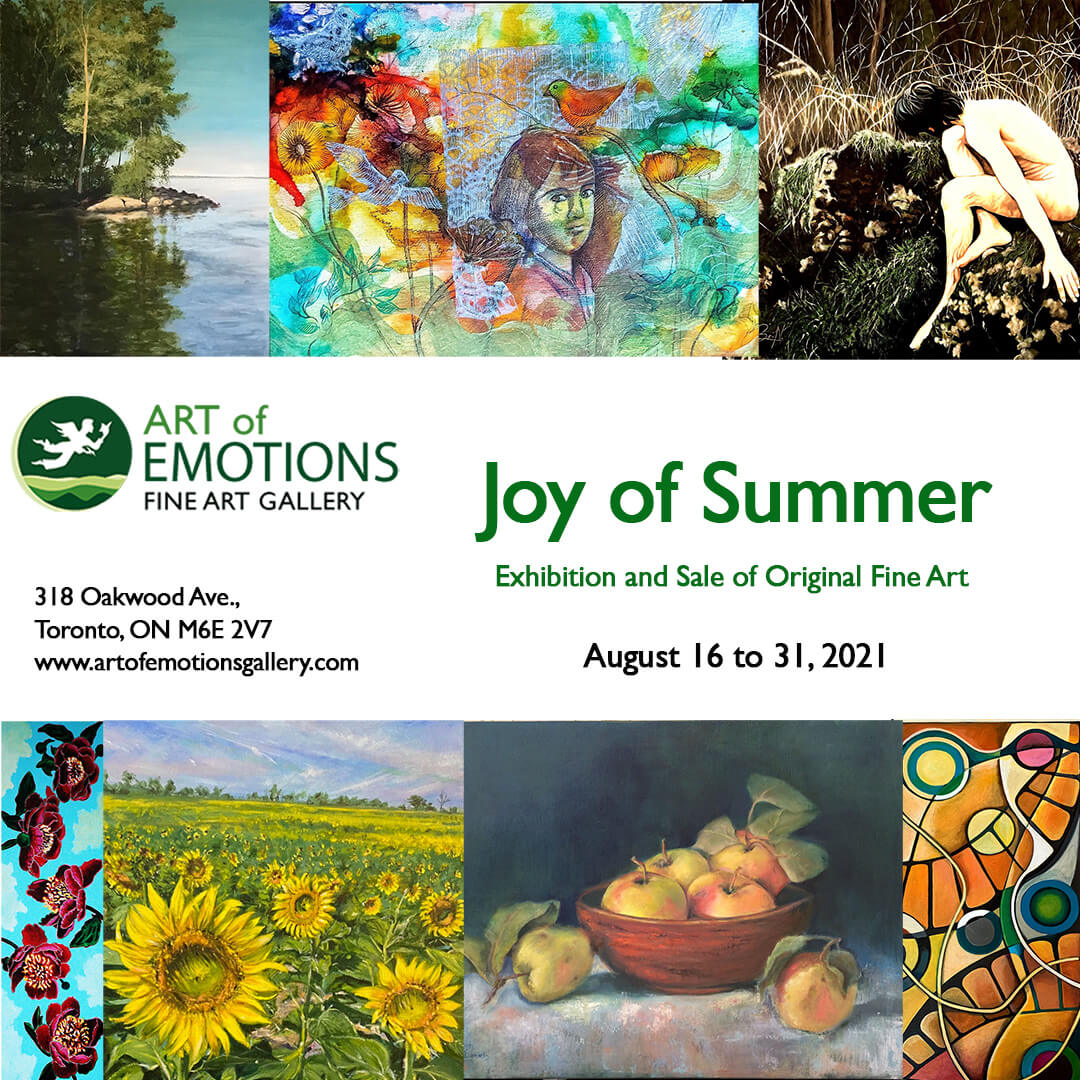 Read more about the article Joy of Summer exhibition – was a success!