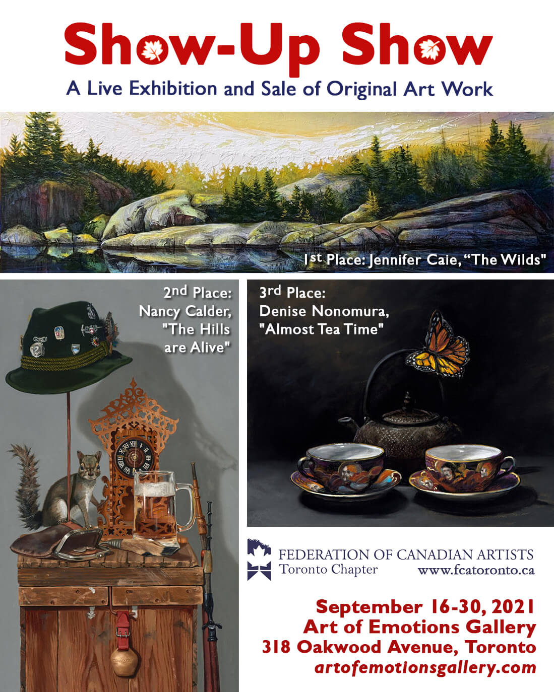 Read more about the article Current Exhibition: FCA Toronto's Show-Up Show